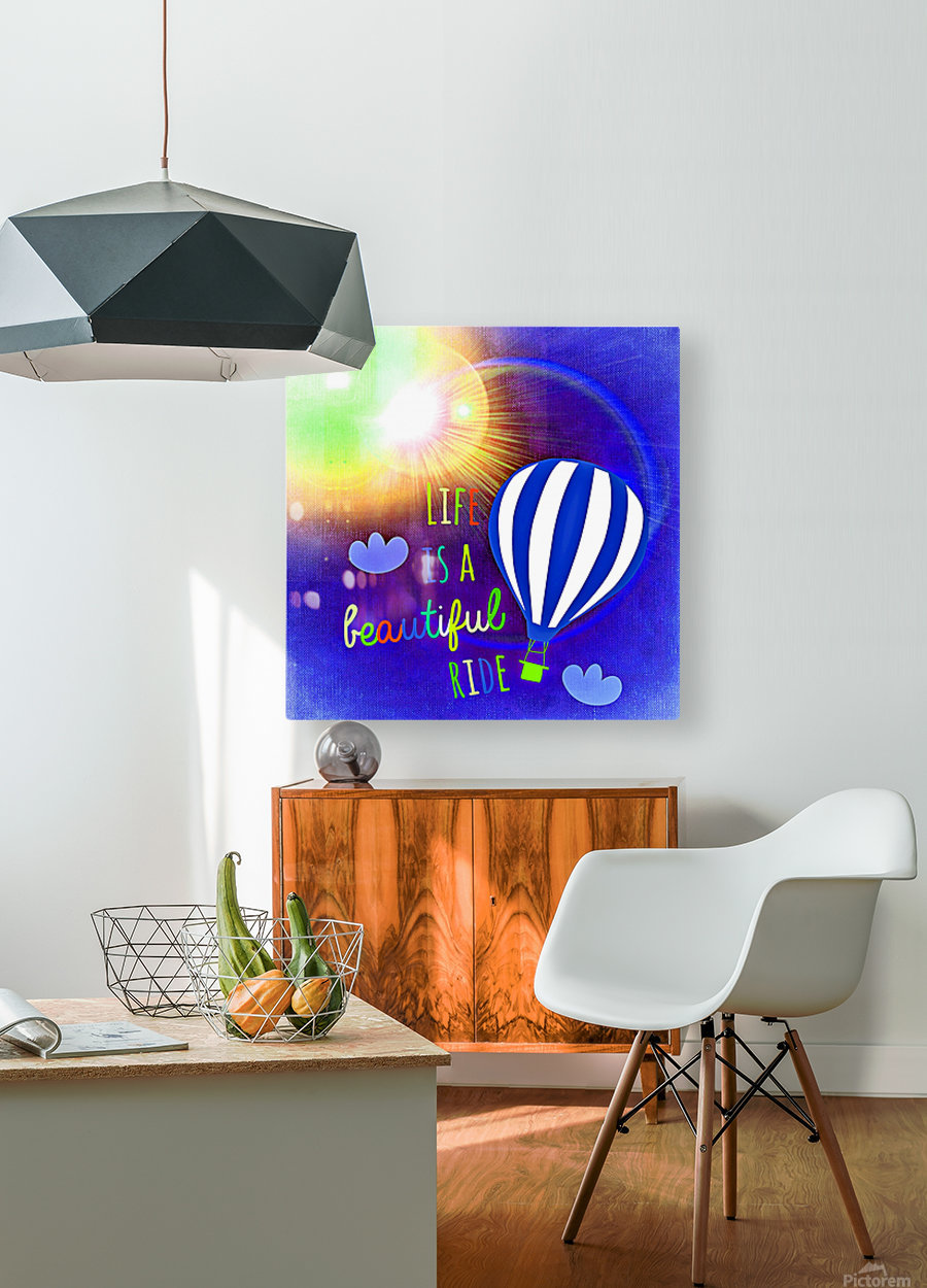 Beautiful Life 03_OSG  HD Metal print with Floating Frame on Back