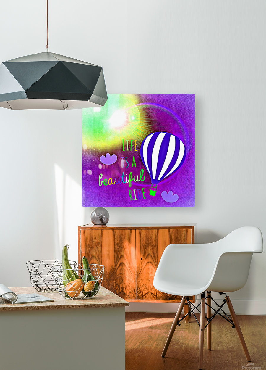 Beautiful Life 04_OSG  HD Metal print with Floating Frame on Back