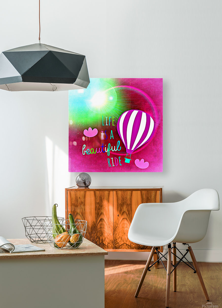 Beautiful Life 06_OSG  HD Metal print with Floating Frame on Back