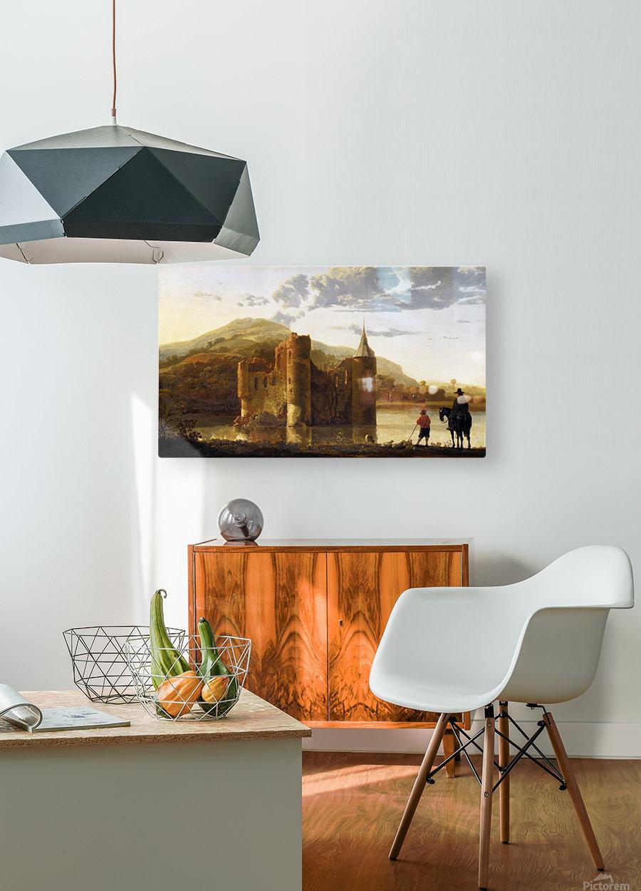 Ubbergen Castle  HD Metal print with Floating Frame on Back