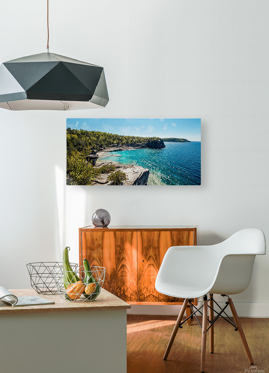 Bruce Peninsula  HD Metal print with Floating Frame on Back