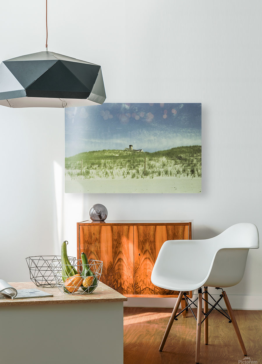 Dunes  HD Metal print with Floating Frame on Back
