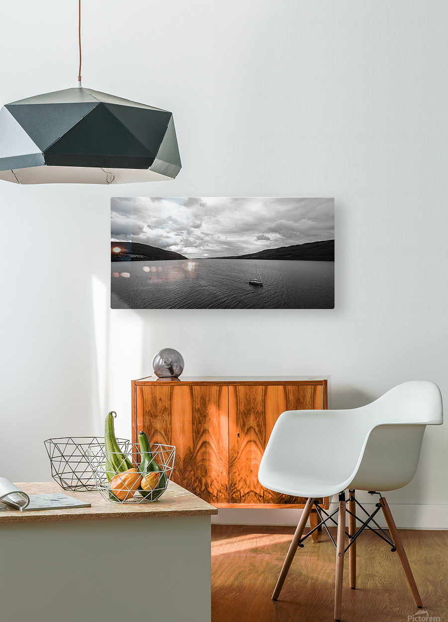 Loch Ness  HD Metal print with Floating Frame on Back