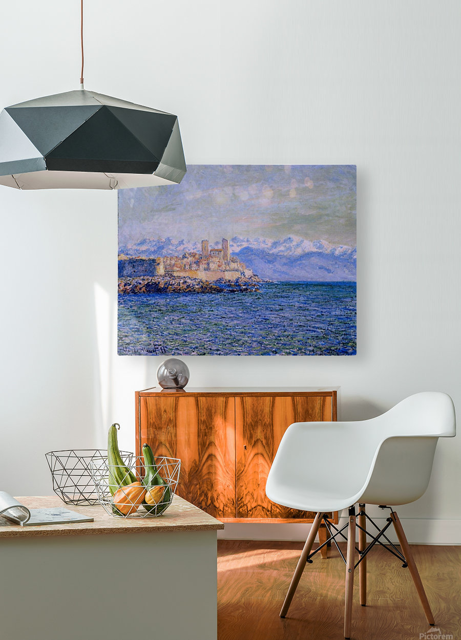The Old Fort at Antibes  HD Metal print with Floating Frame on Back