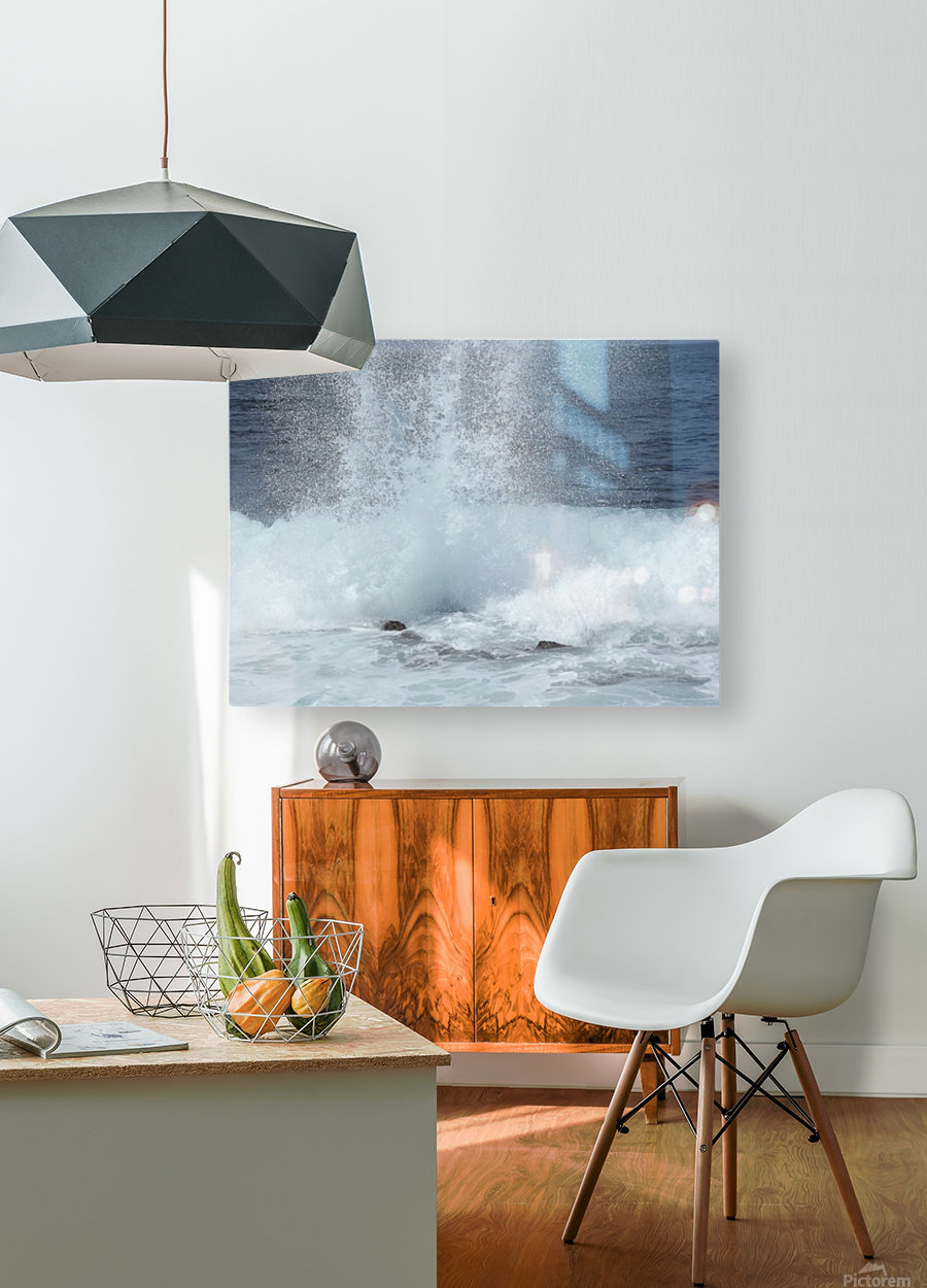Sea Spray  HD Metal print with Floating Frame on Back