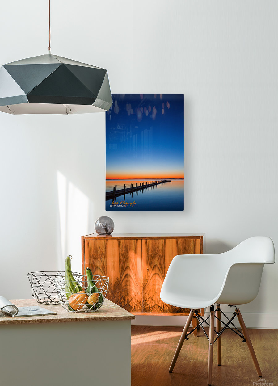 Sunset - APC-129  HD Metal print with Floating Frame on Back