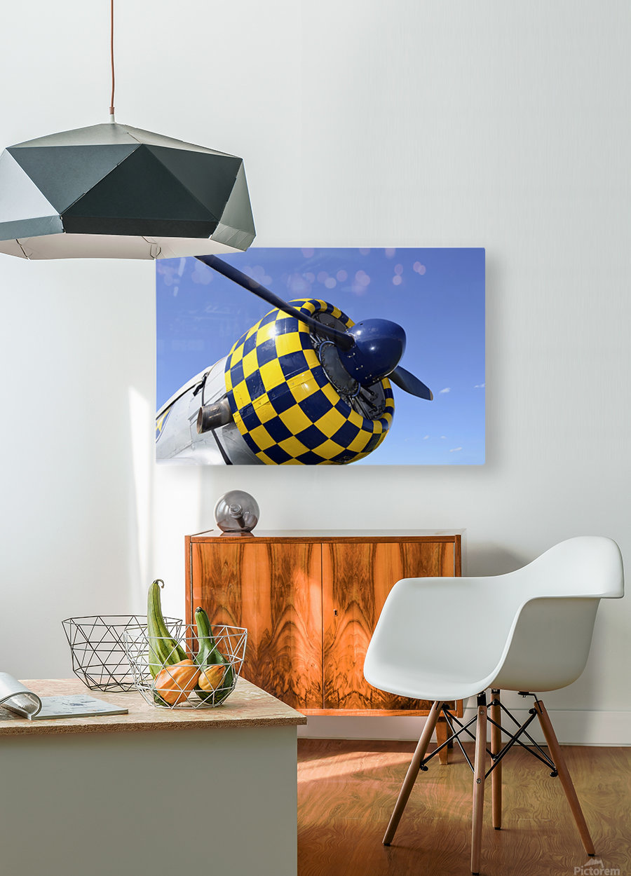 stk105465m  HD Metal print with Floating Frame on Back