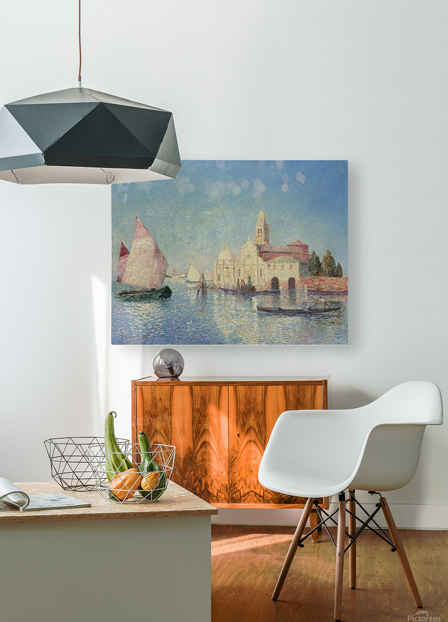 The Belfry of Croisic  HD Metal print with Floating Frame on Back