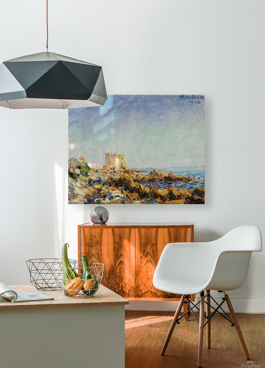Lile Saint-Honorat  HD Metal print with Floating Frame on Back