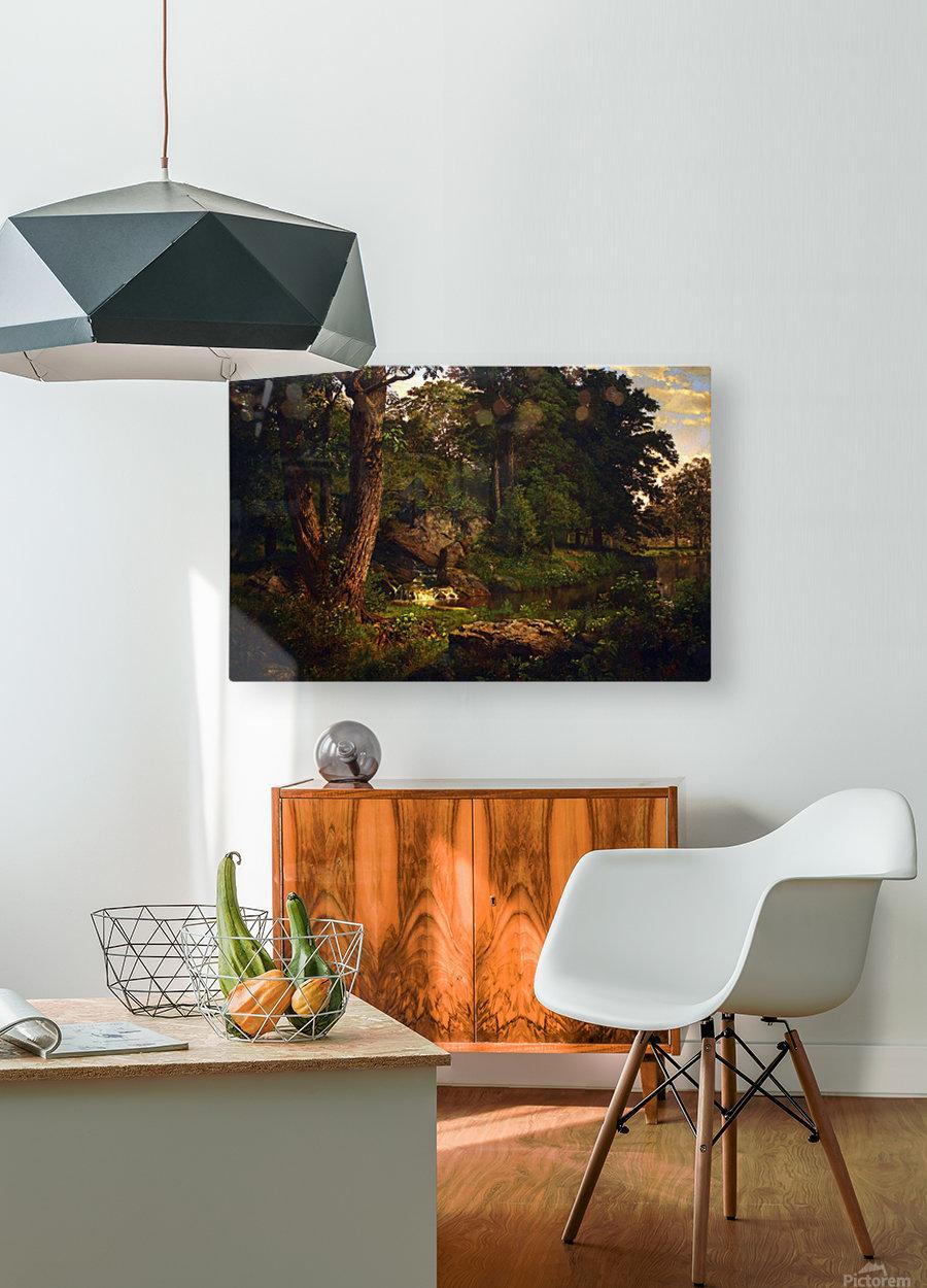 Landscape  HD Metal print with Floating Frame on Back