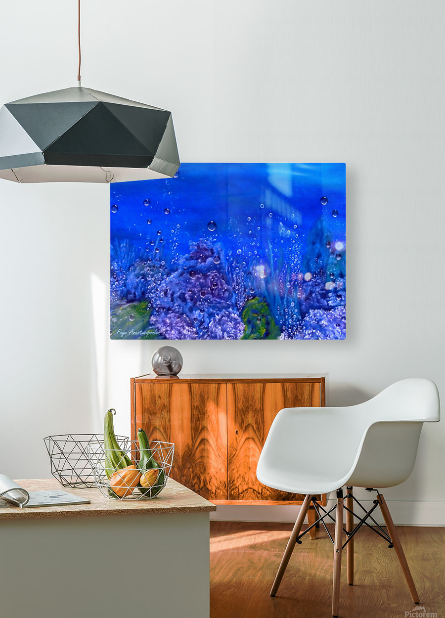 Coral Reef  HD Metal print with Floating Frame on Back