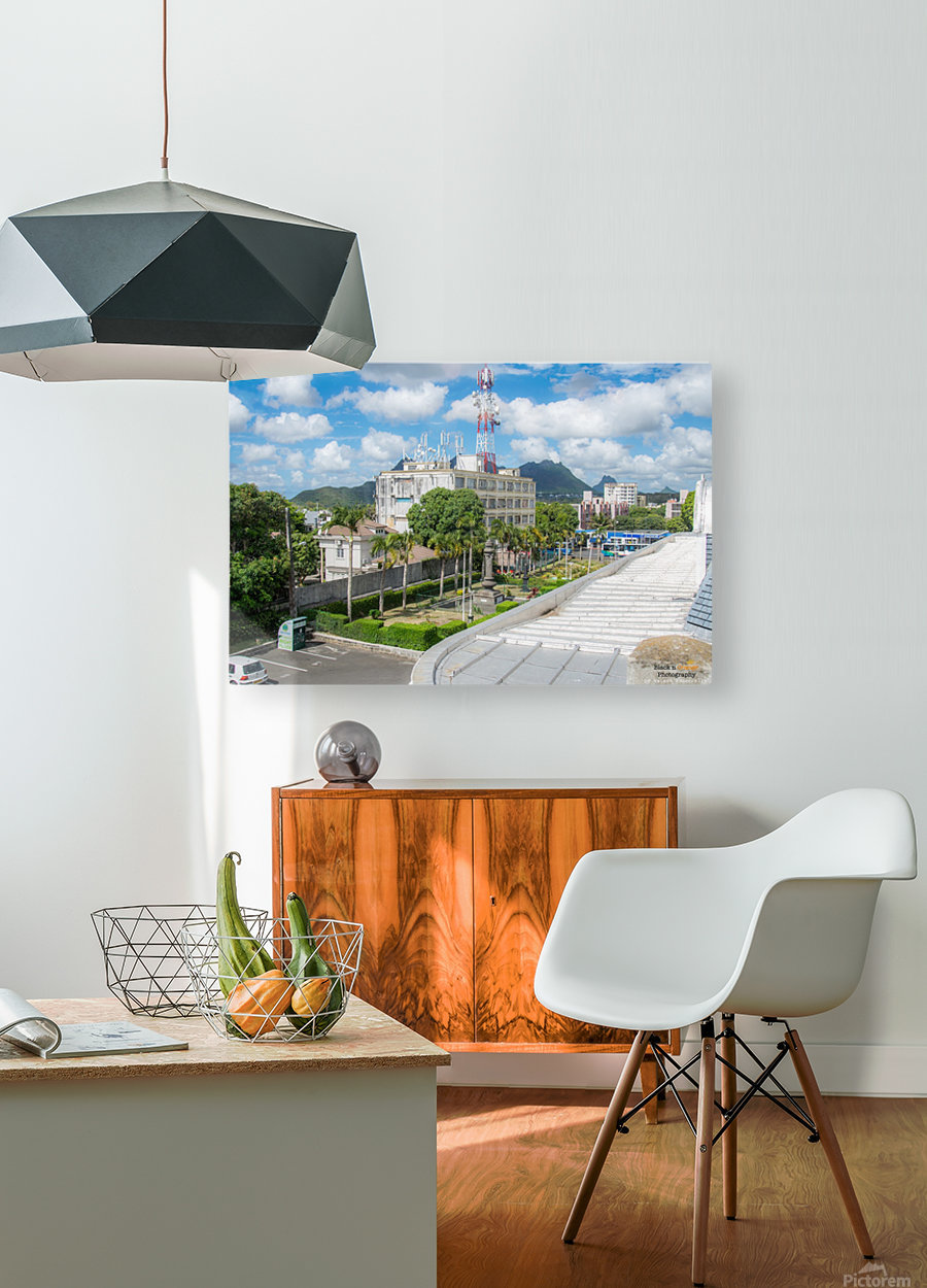 1 45  HD Metal print with Floating Frame on Back