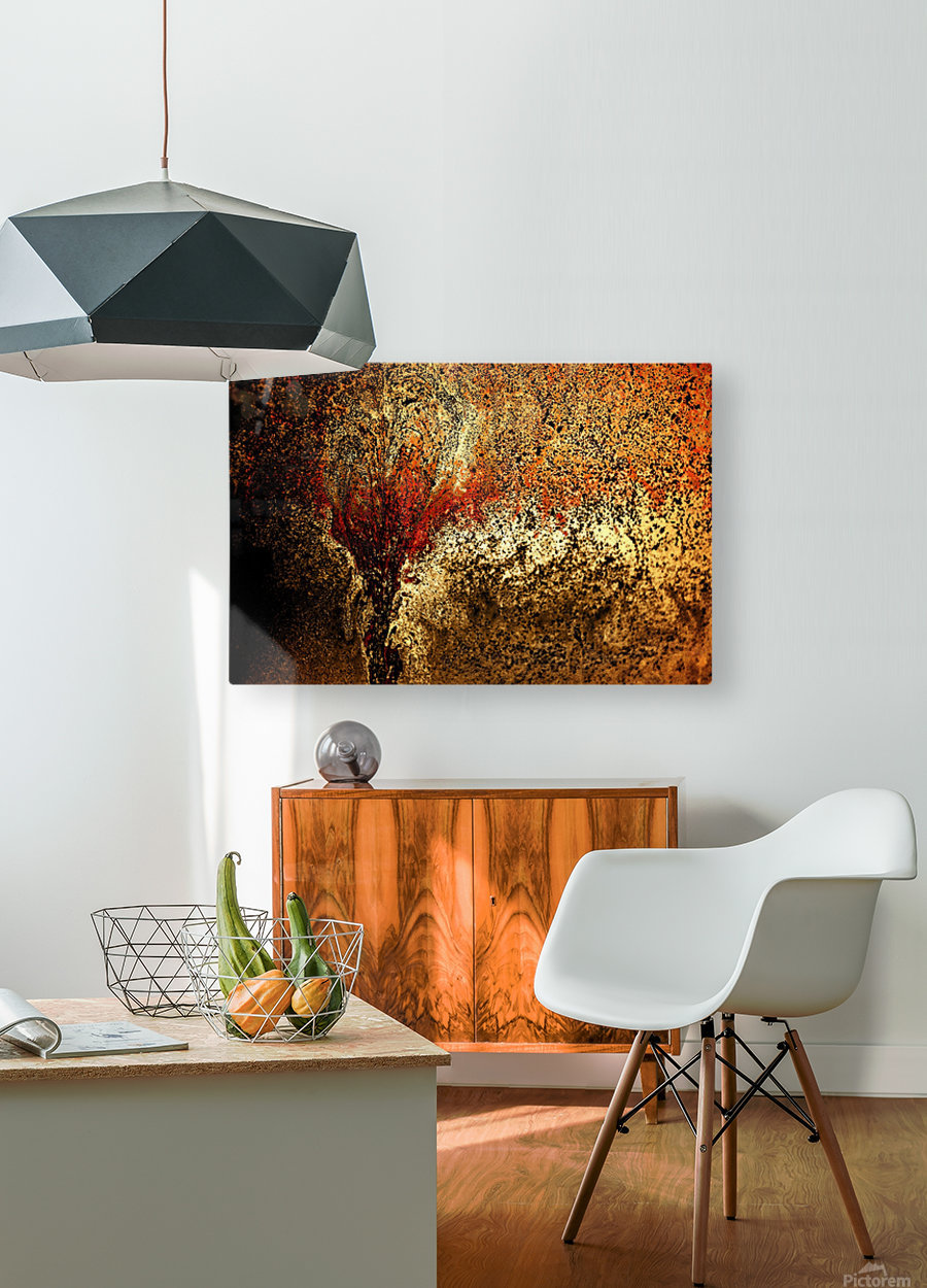 Bubbles Reimagined 94  HD Metal print with Floating Frame on Back