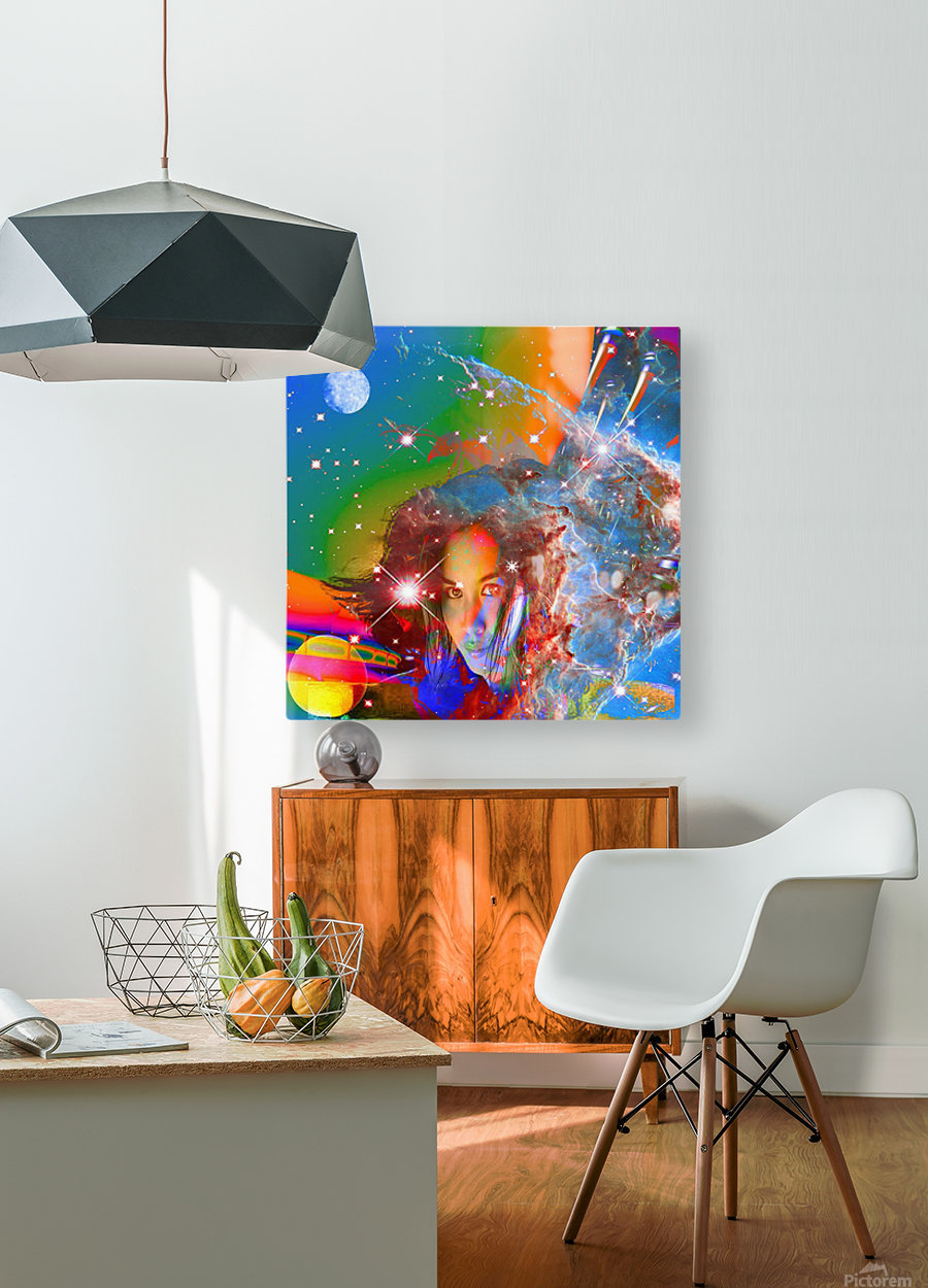 Cosmic Dream  HD Metal print with Floating Frame on Back