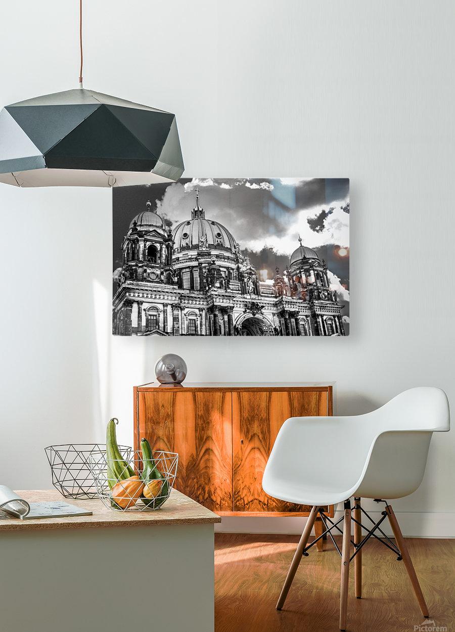 Berliner Dom  HD Metal print with Floating Frame on Back