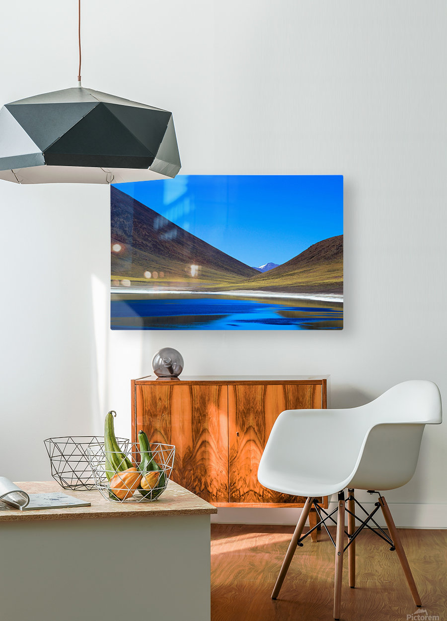 Laguna Meñiques  HD Metal print with Floating Frame on Back