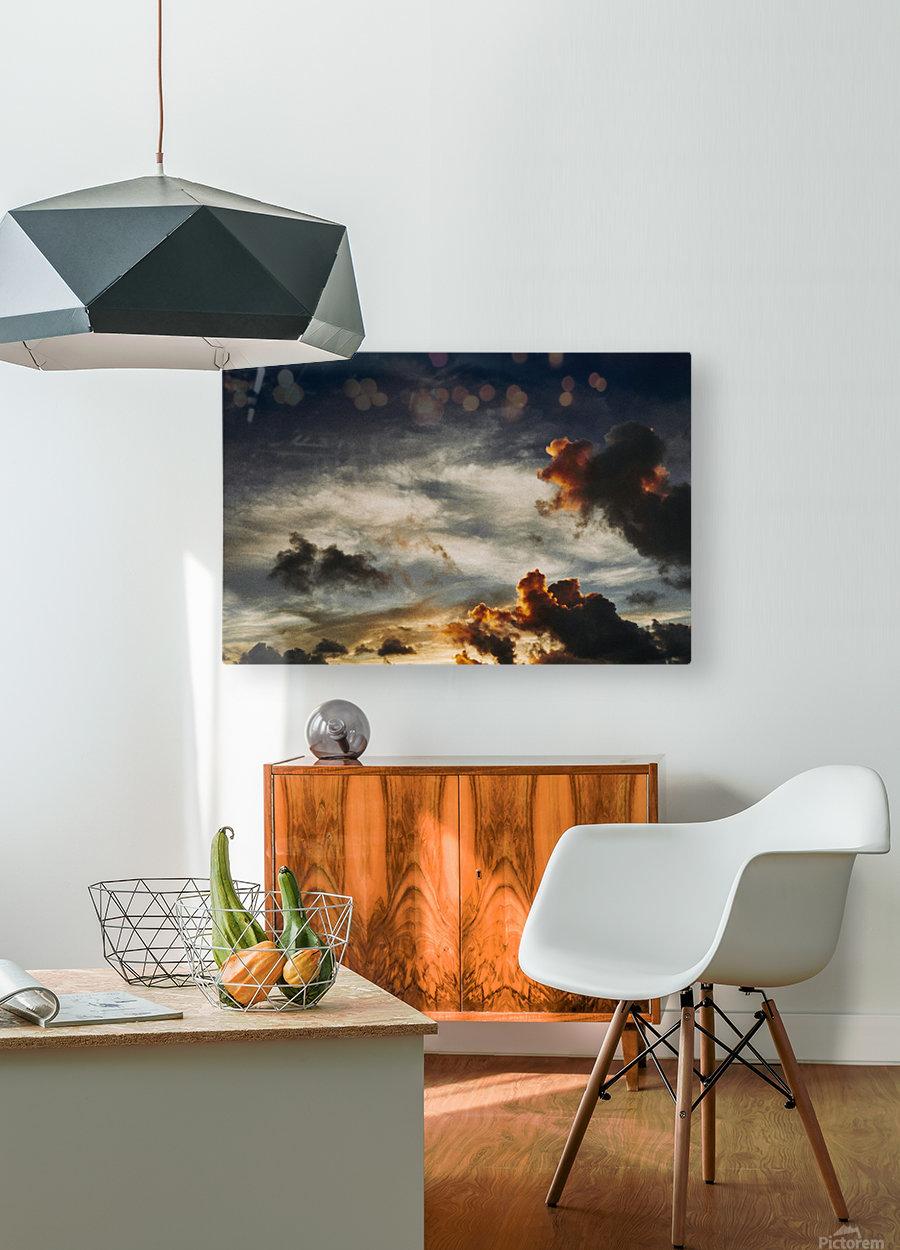 Lanikai Sunrise  HD Metal print with Floating Frame on Back