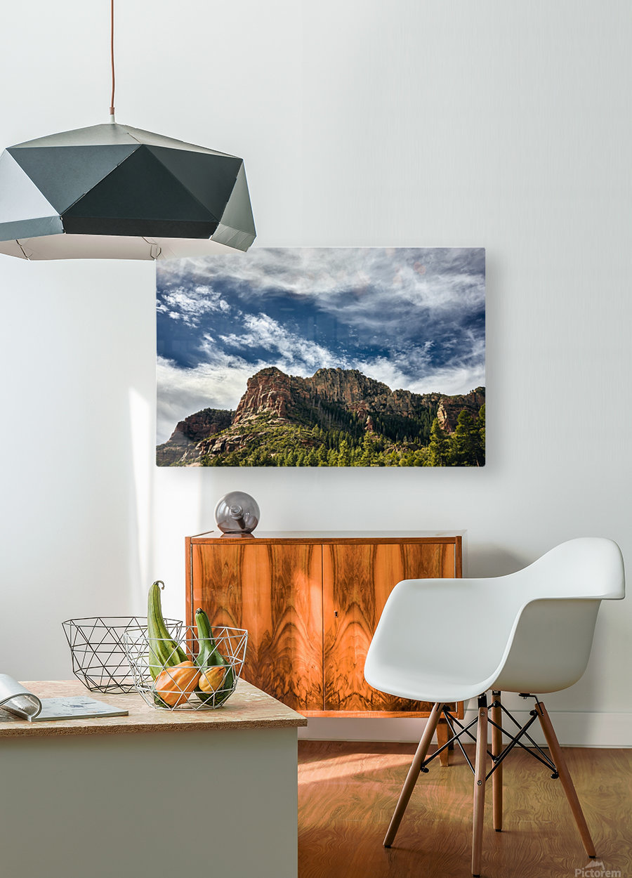 Southwest Sky  HD Metal print with Floating Frame on Back