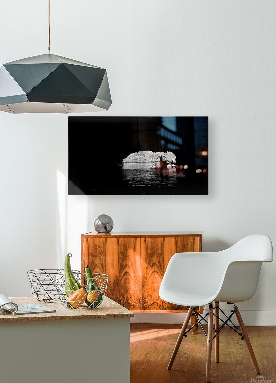 Ha Long Bay  HD Metal print with Floating Frame on Back