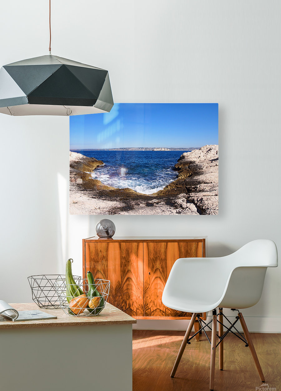 Turning Tide  HD Metal print with Floating Frame on Back
