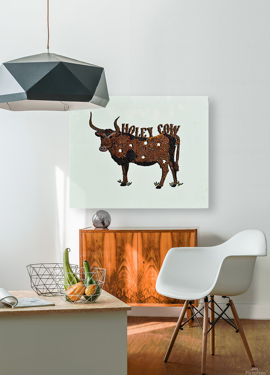 Holy Cow. Stephen R  HD Metal print with Floating Frame on Back