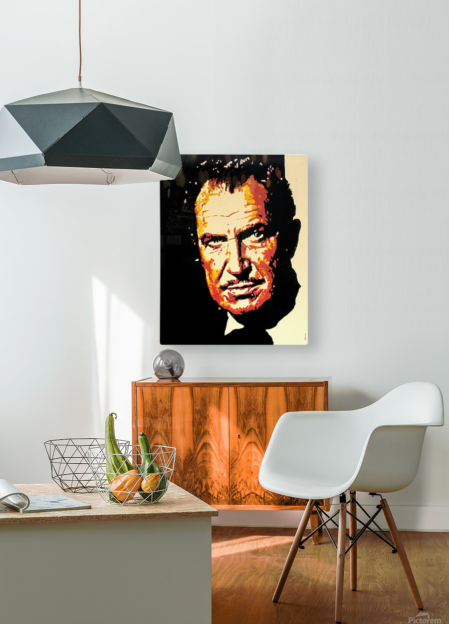 Vincent Price  HD Metal print with Floating Frame on Back