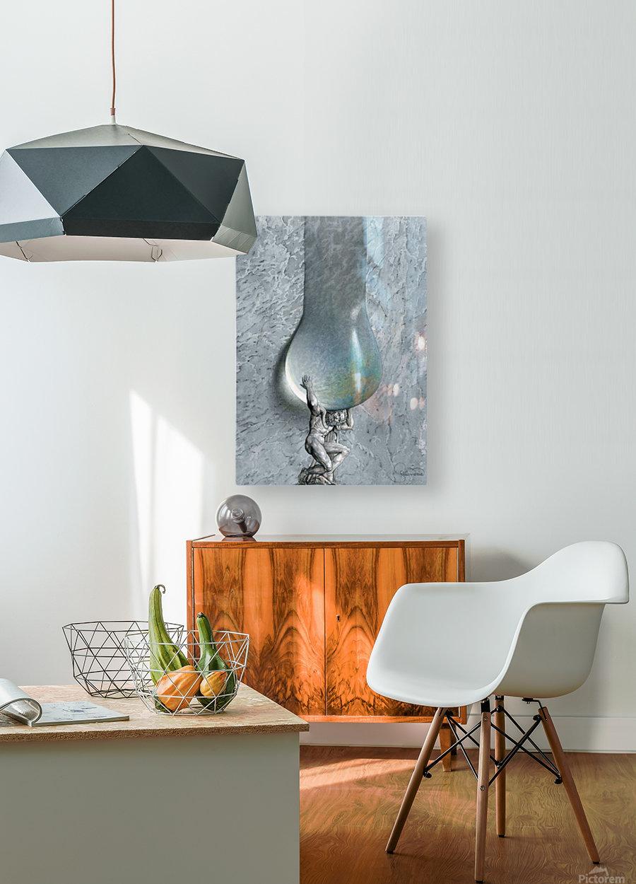 20 Krzysztof Grzondziel  HD Metal print with Floating Frame on Back