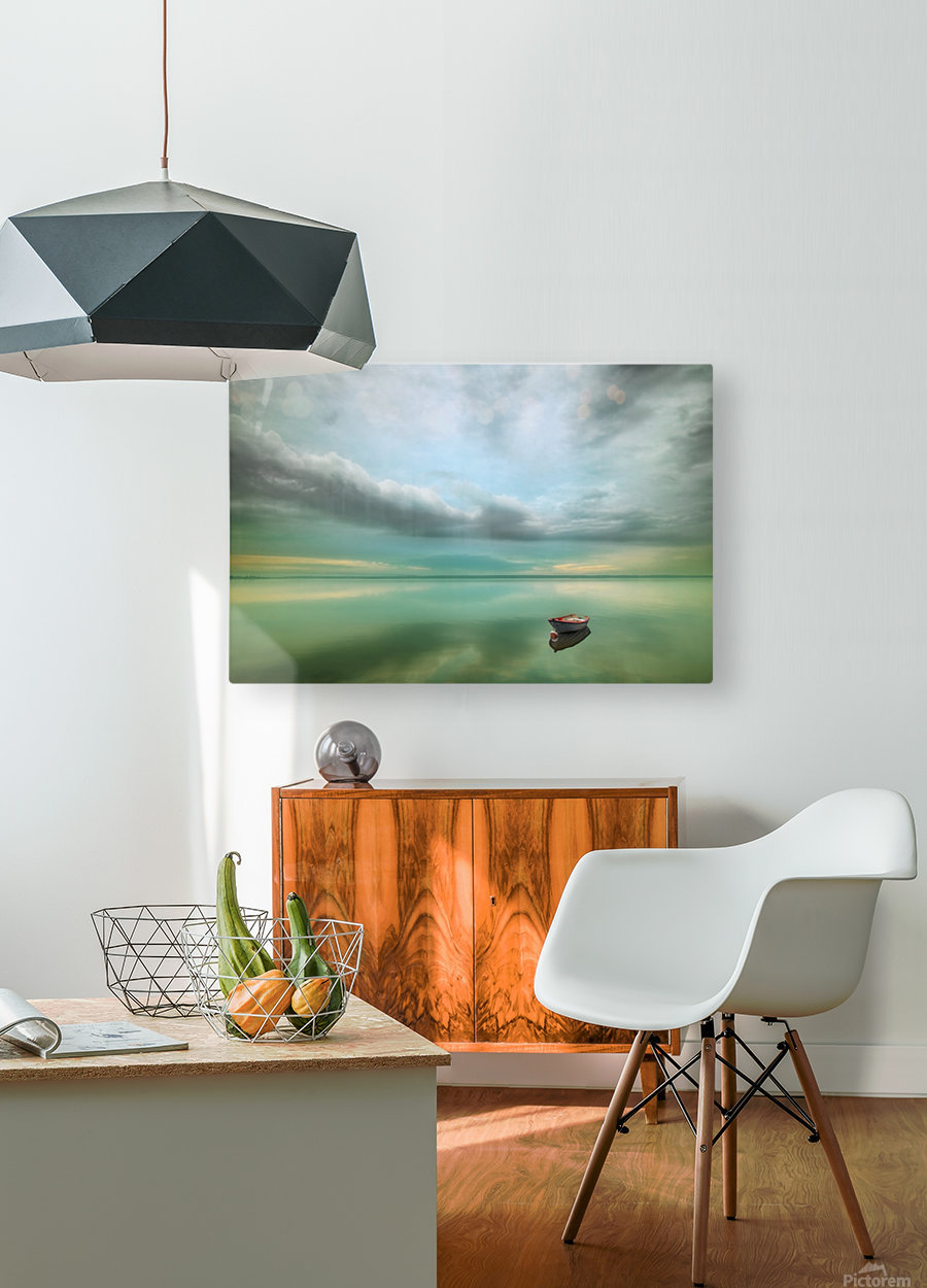 Boat...  HD Metal print with Floating Frame on Back