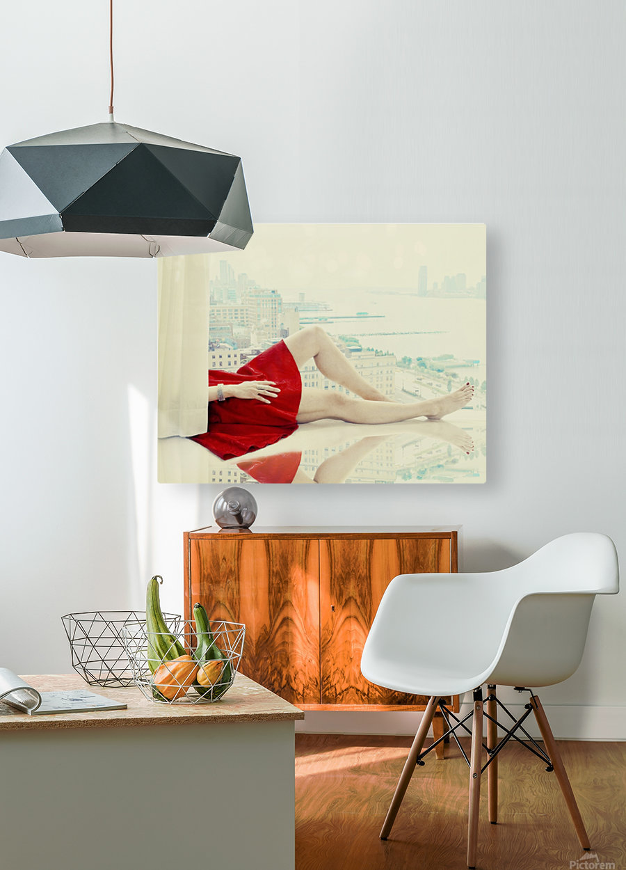 lazy afternoon  HD Metal print with Floating Frame on Back