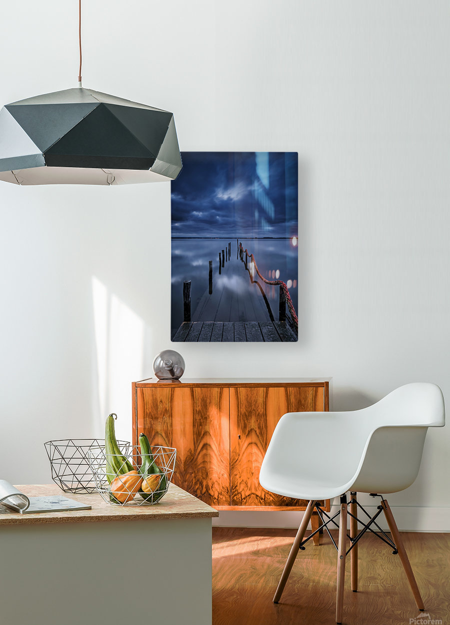 Cais  HD Metal print with Floating Frame on Back