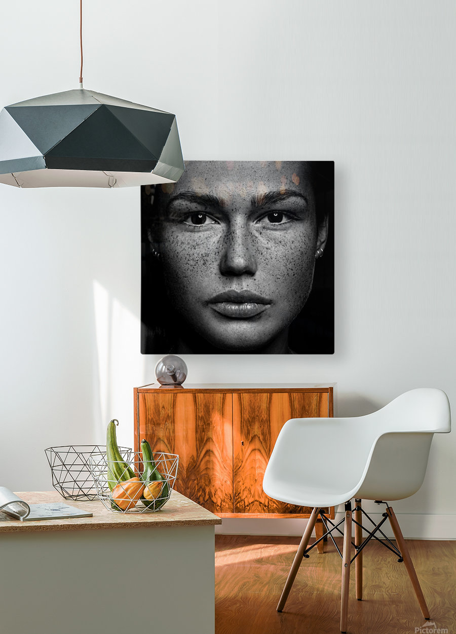 Romi  HD Metal print with Floating Frame on Back