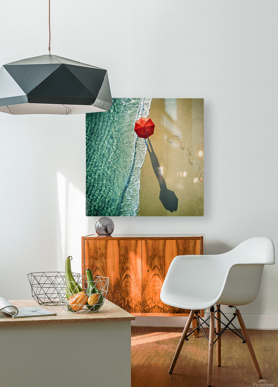. deep water .  HD Metal print with Floating Frame on Back