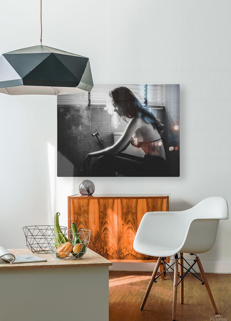 No.53  HD Metal print with Floating Frame on Back