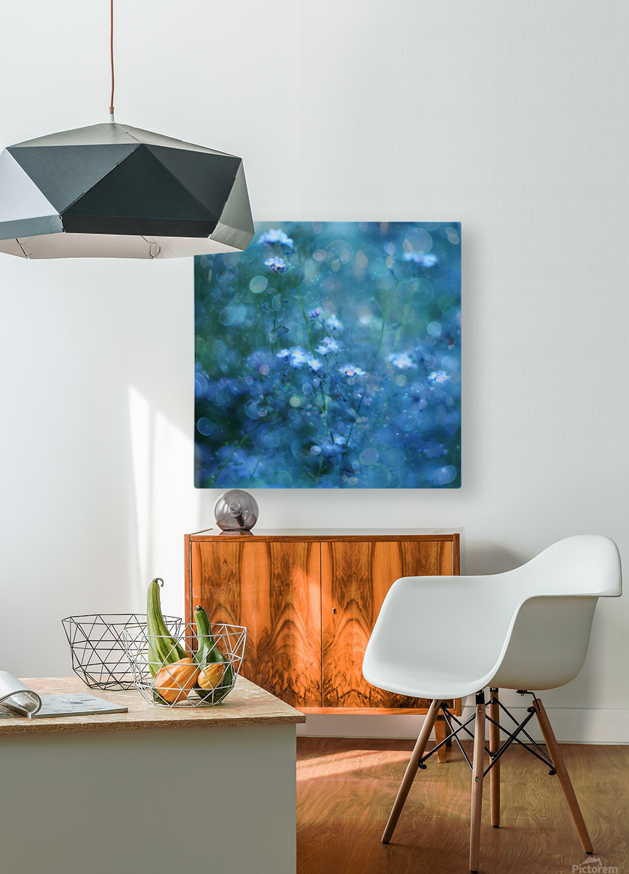 Blue Serenity  HD Metal print with Floating Frame on Back