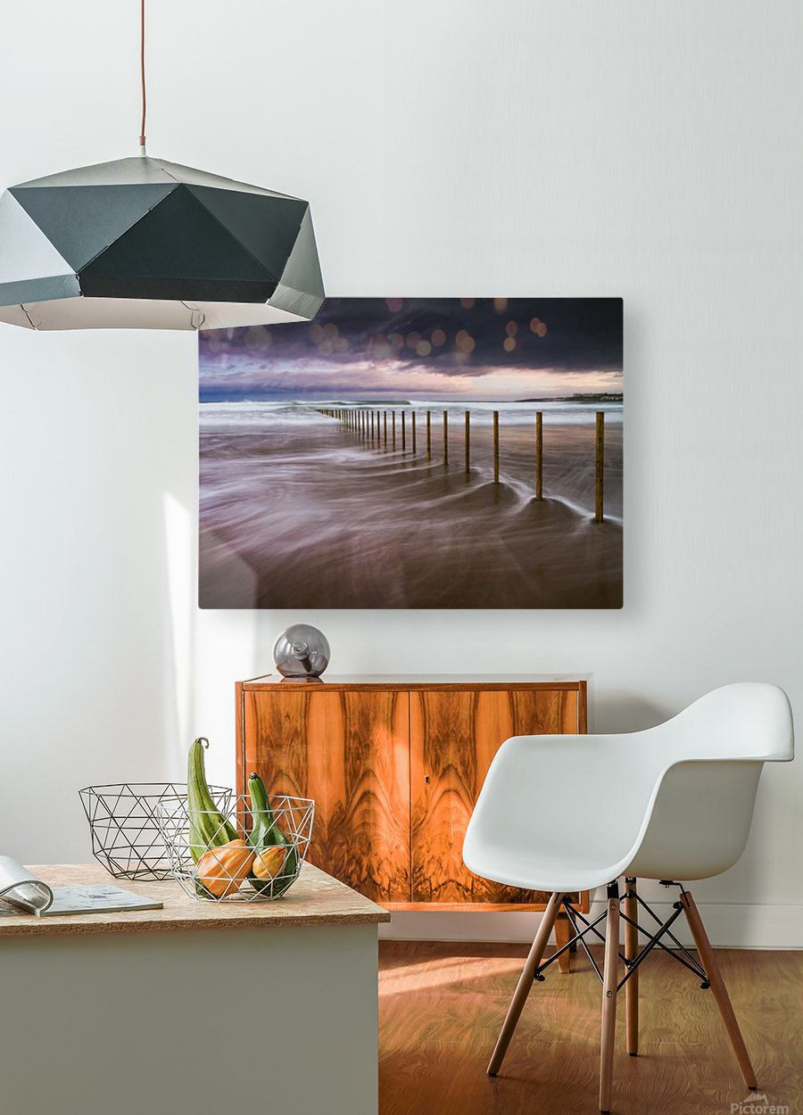 Portstewart Strand  HD Metal print with Floating Frame on Back