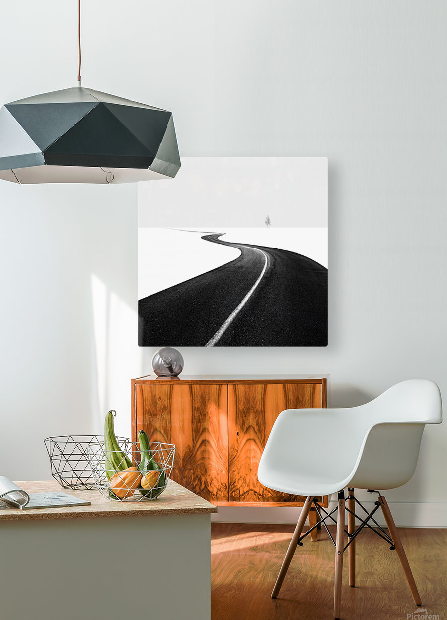Road I  HD Metal print with Floating Frame on Back