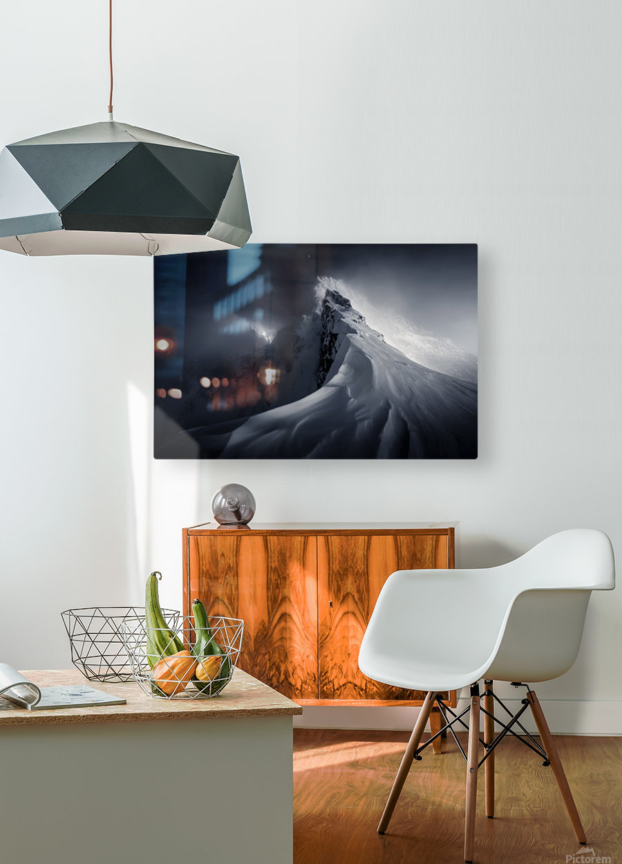 Crown of High Tatras  HD Metal print with Floating Frame on Back