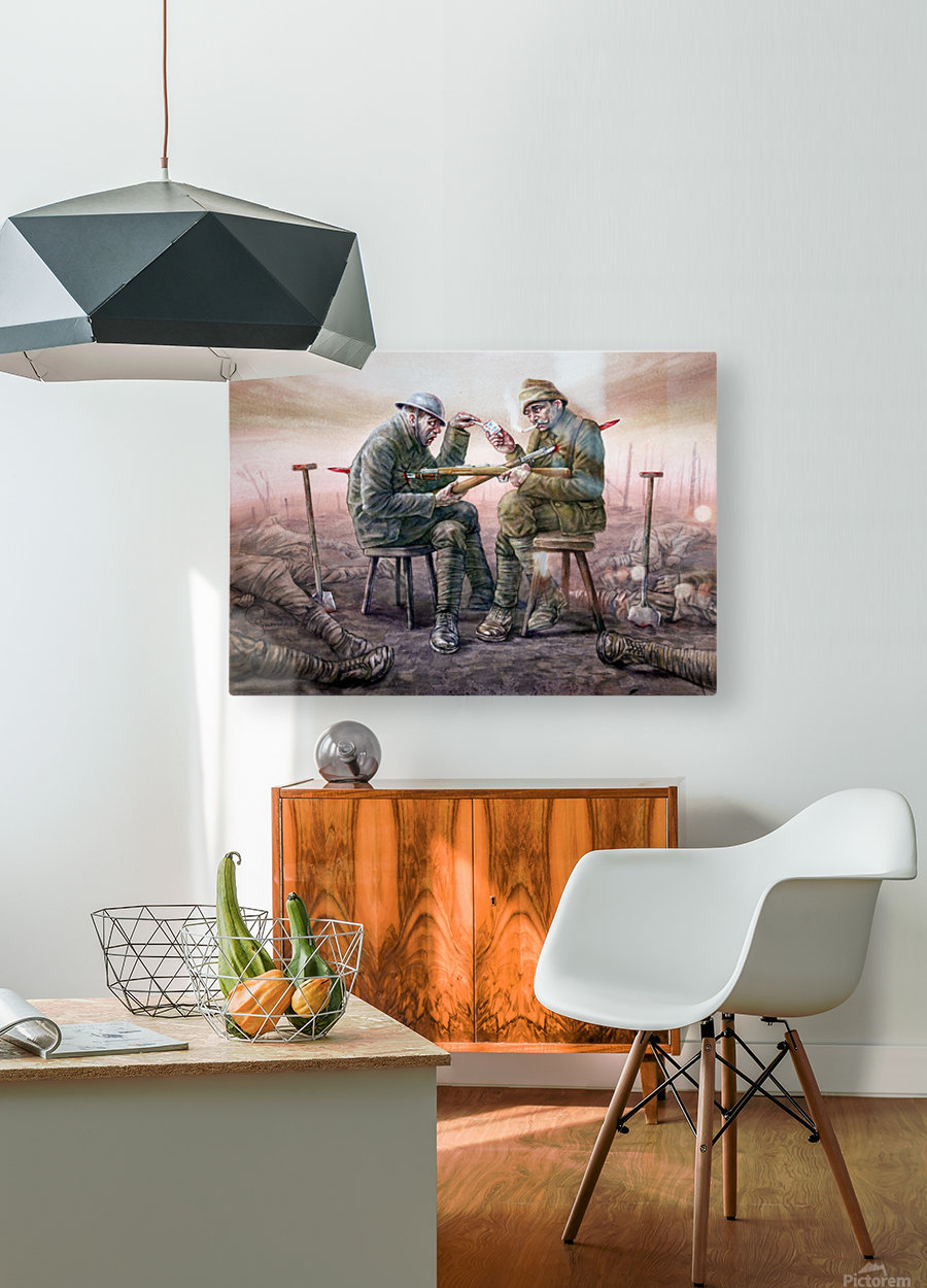8 Krzysztof Grzondziel  HD Metal print with Floating Frame on Back