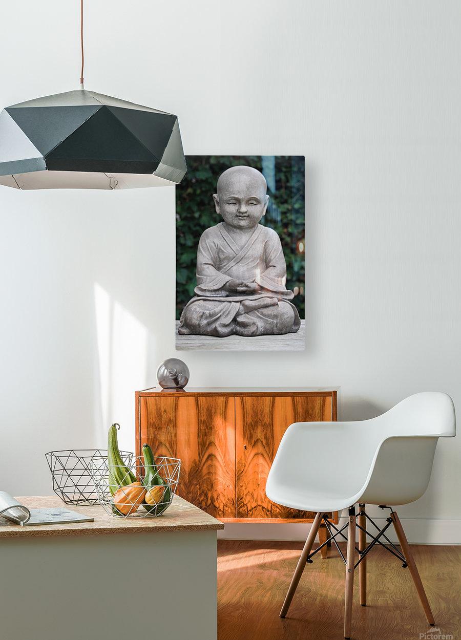 BUDDHA  HD Metal print with Floating Frame on Back
