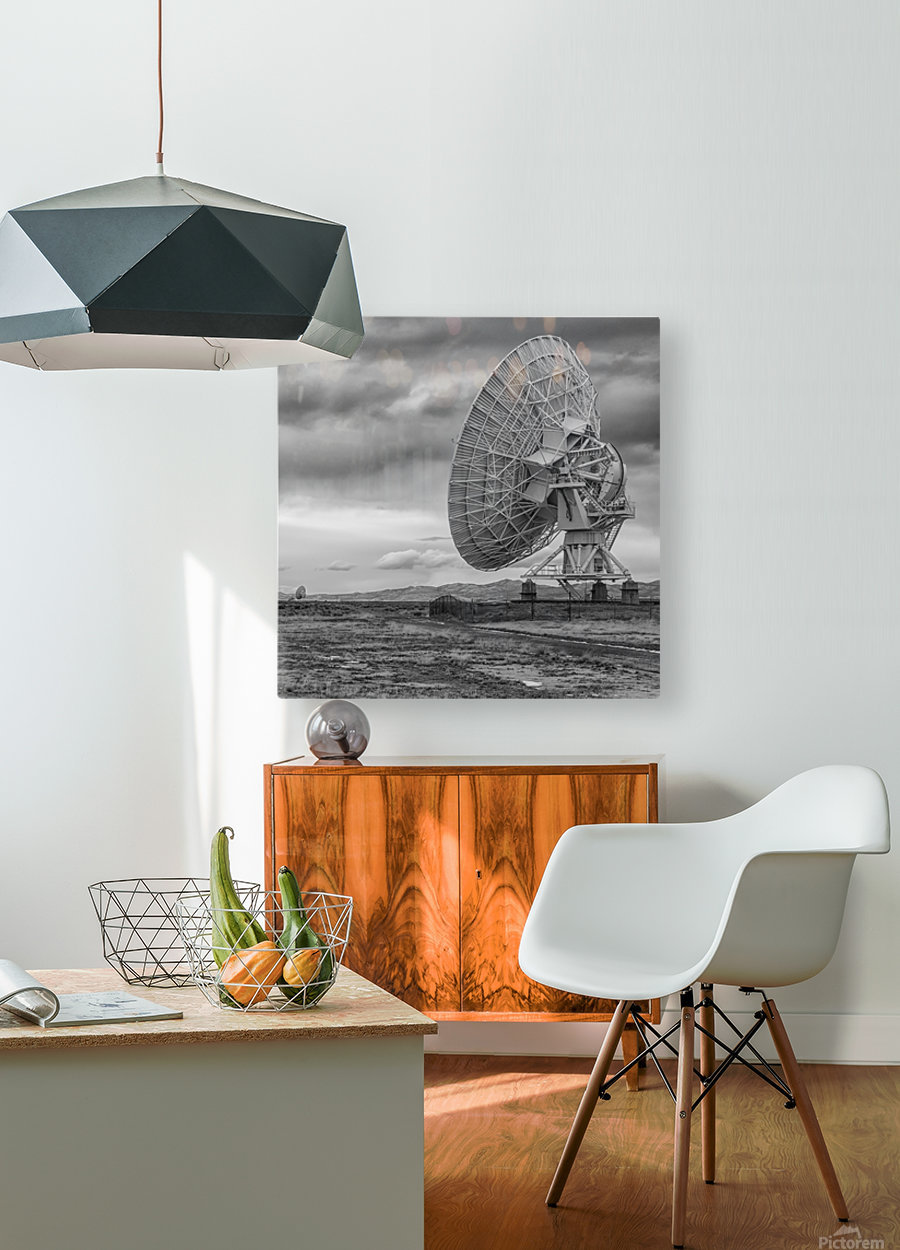 Very Large Array New Mexico  HD Metal print with Floating Frame on Back