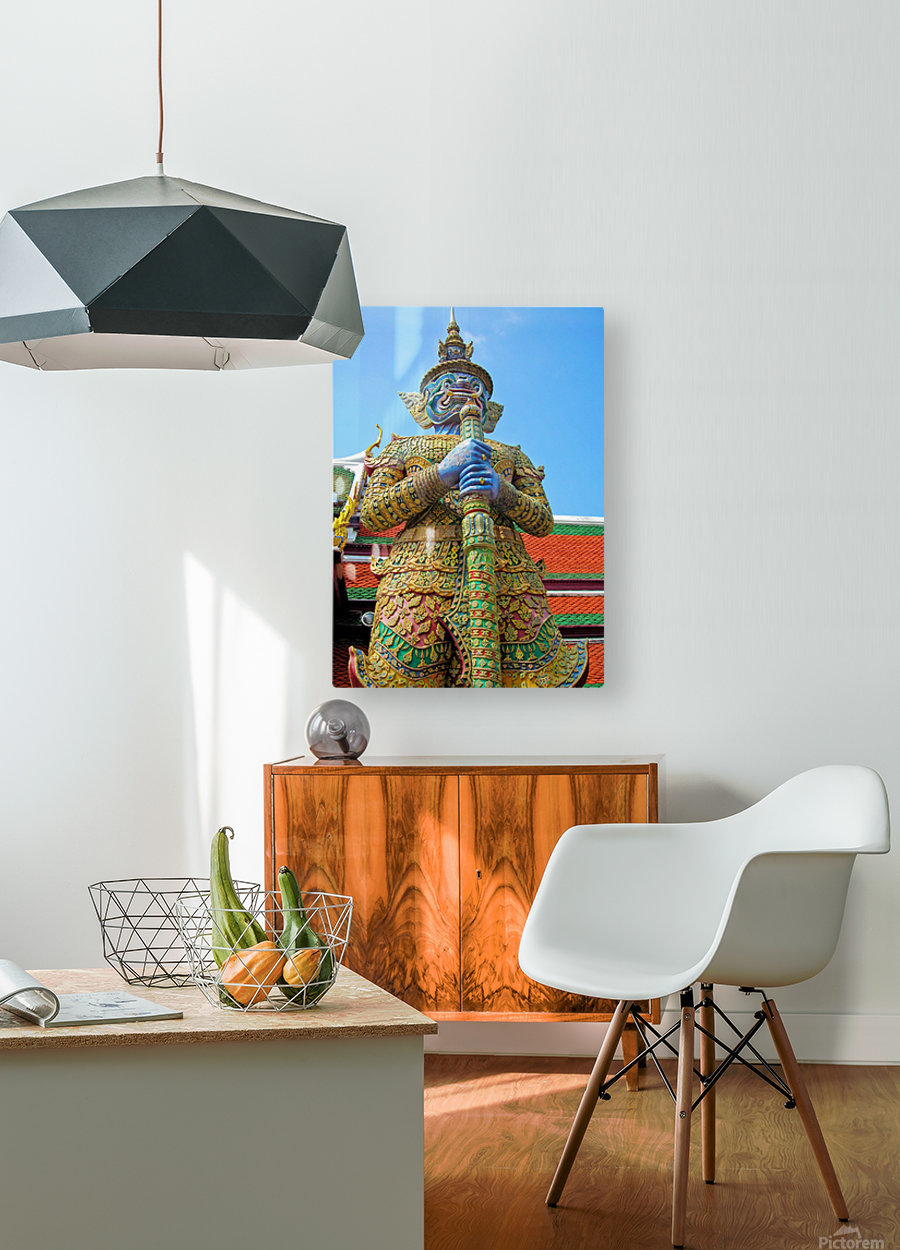 Thailand23  HD Metal print with Floating Frame on Back