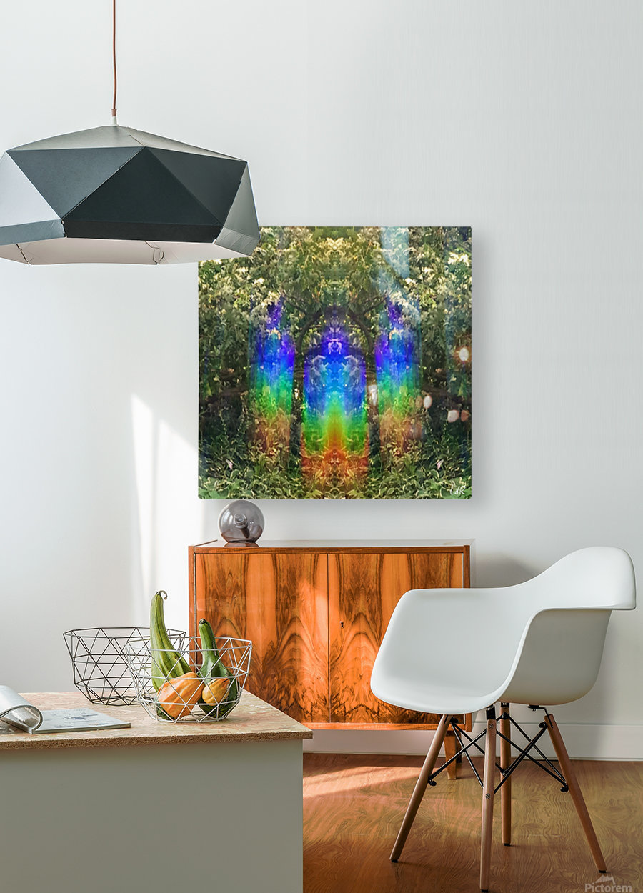 Light Guardians  HD Metal print with Floating Frame on Back