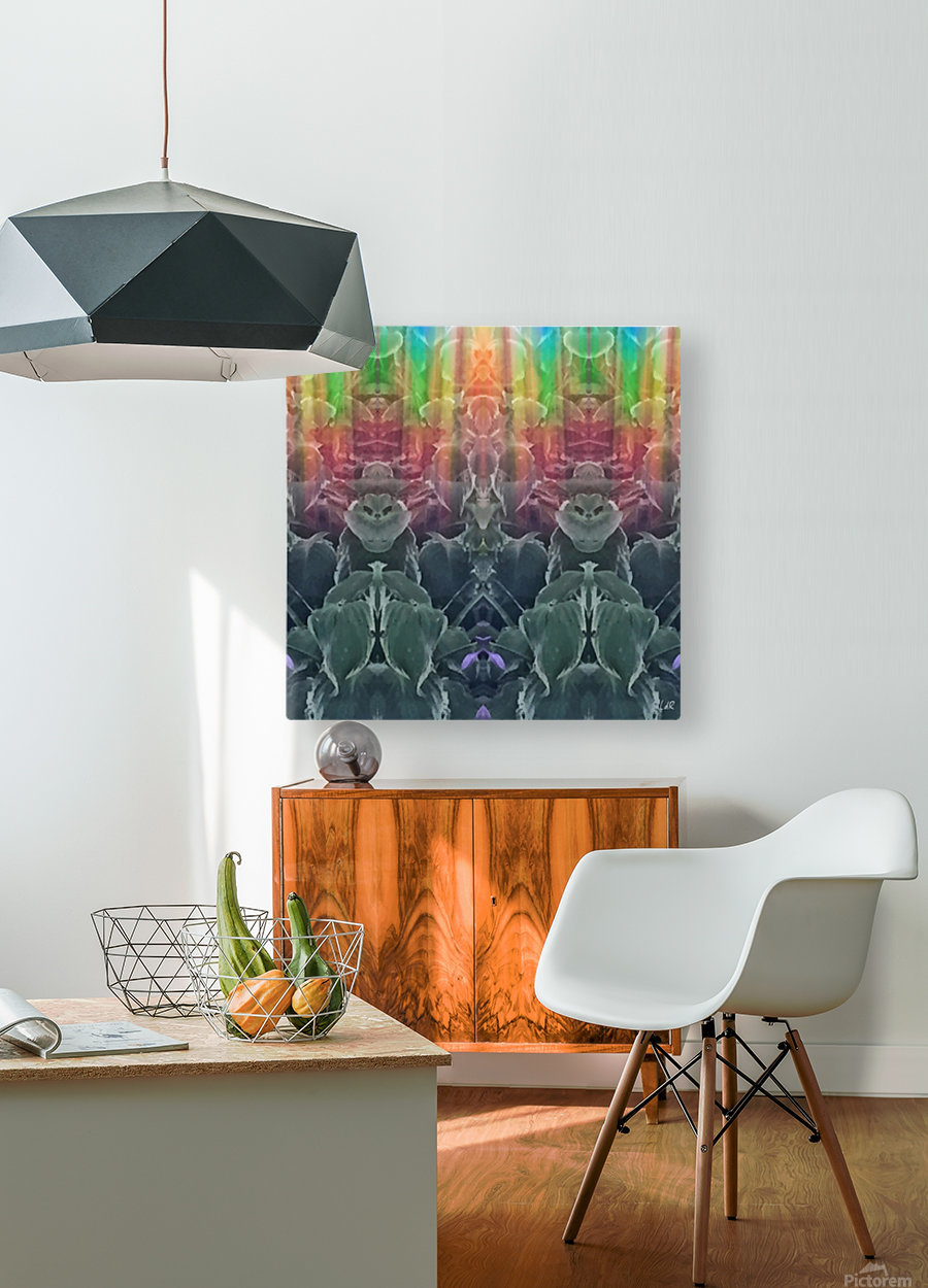 Cool Cats  HD Metal print with Floating Frame on Back