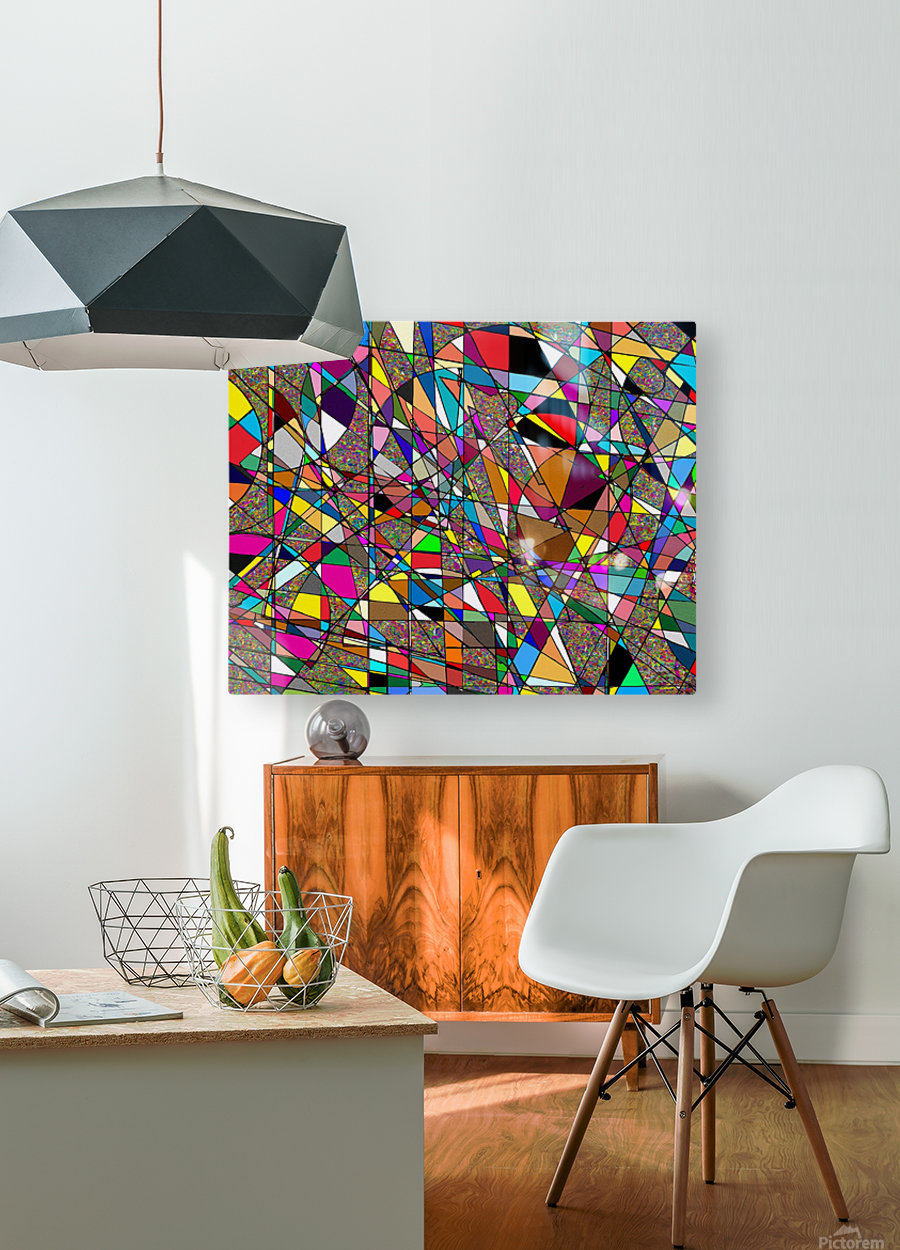 Jazzotonic  HD Metal print with Floating Frame on Back