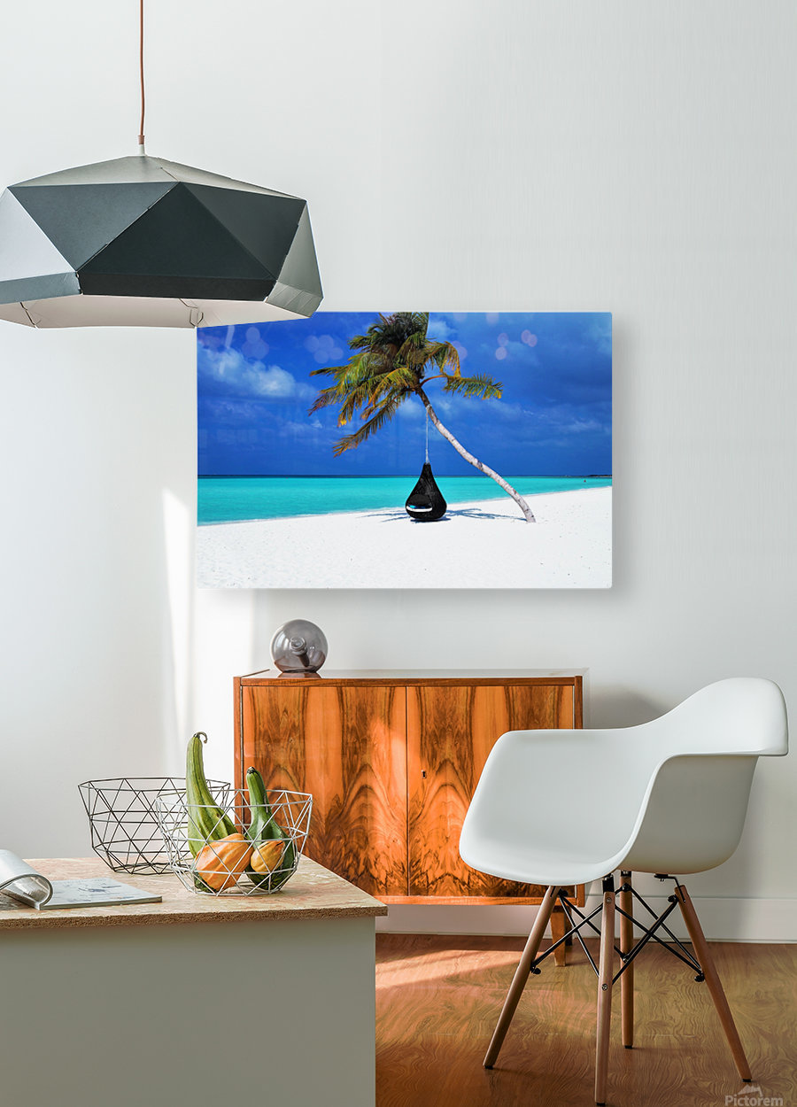 ONE DAY  HD Metal print with Floating Frame on Back
