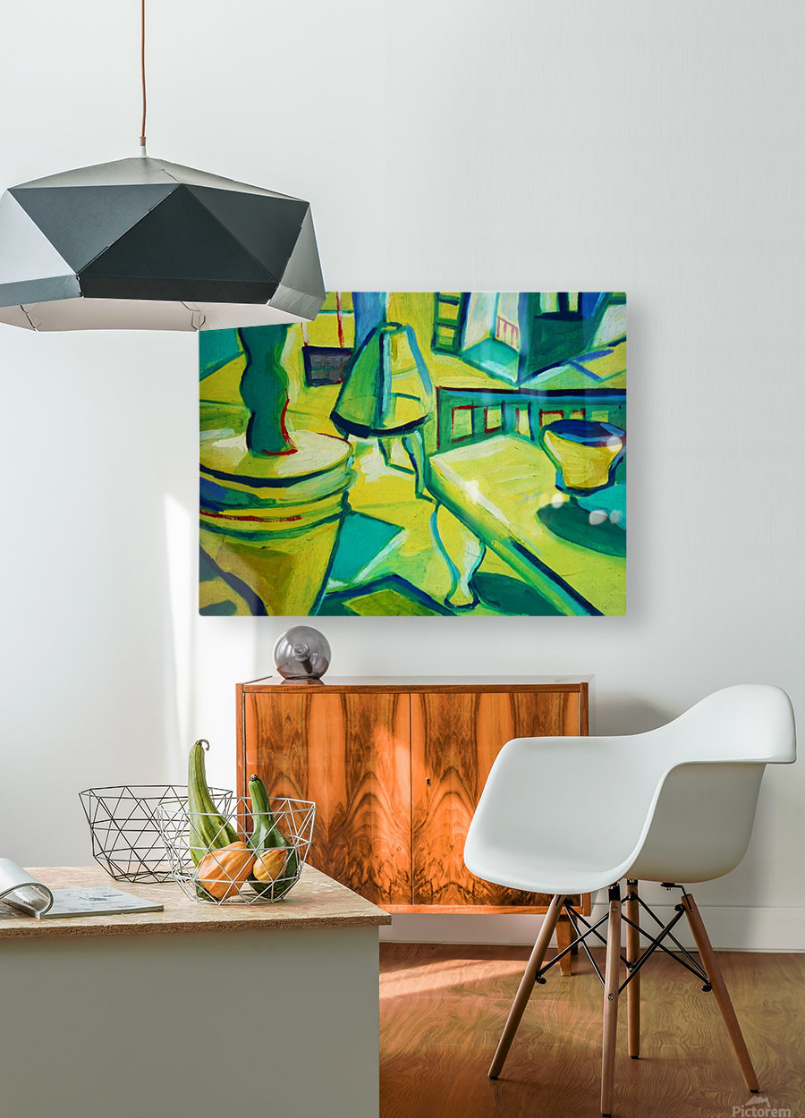 interno  HD Metal print with Floating Frame on Back