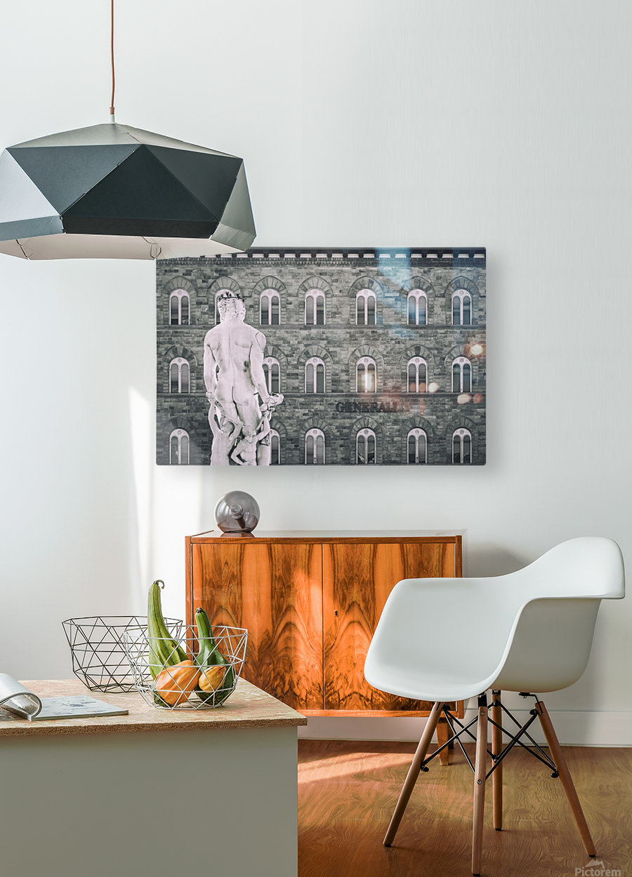 Generale di Firenze  HD Metal print with Floating Frame on Back