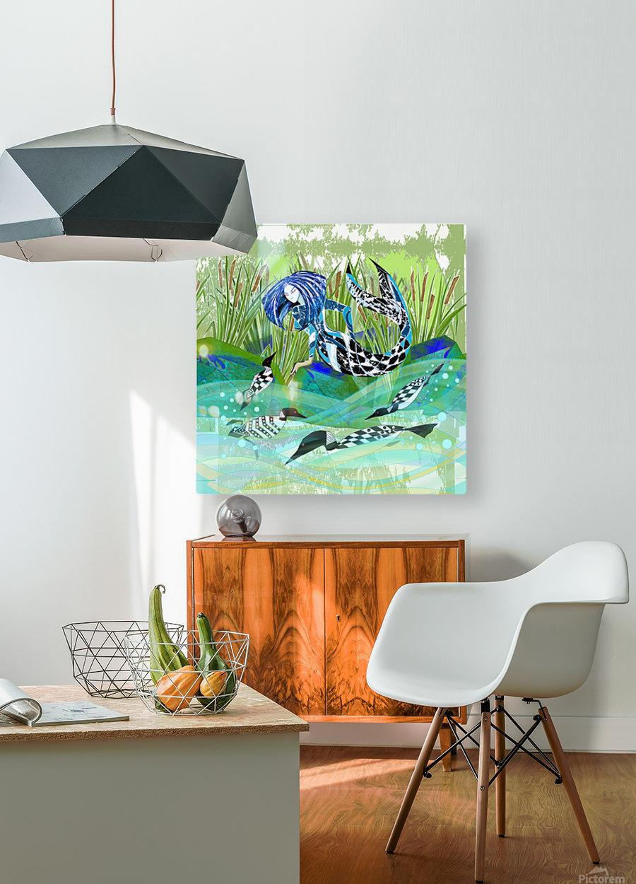 Huard_Mdawilha_Anik Lafreniere_  HD Metal print with Floating Frame on Back