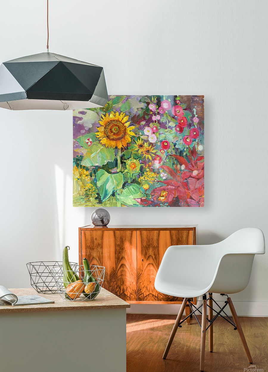 Solar rendezvous   HD Metal print with Floating Frame on Back