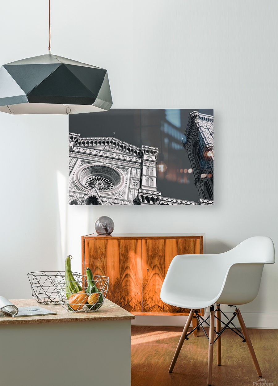 Santa Maria del Fiore  HD Metal print with Floating Frame on Back